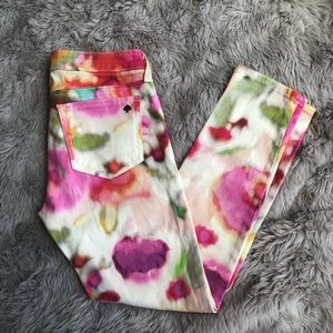 Kate Spade Broome Street Watercolor Jeans